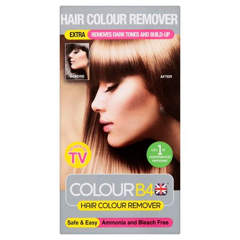 hair color removal colour b4 hair colour remover clear chemist