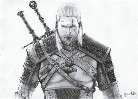 Witcher 3 Sketches by Geralt Of Rivia The Witcher 3 By Josiyeah On Deviantart