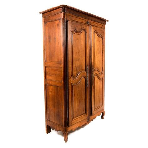 french jewelry armoire french two door cherrywood armoire for sale at 1stdibs