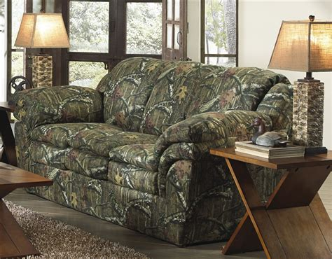 camo sectional couch huntley sofa in mossy oak or realtree camouflage fabric by
