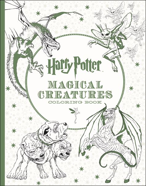 harry potter coloring book magical creatures a harry potter magical creatures coloring book is on the