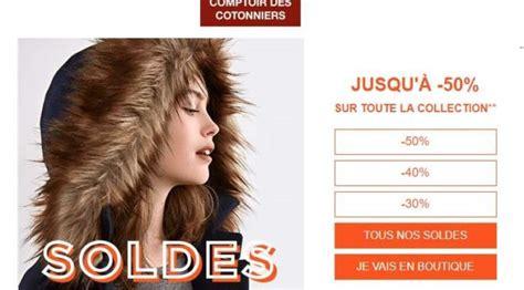 Le Comptoir Des Cotonniers Soldes by Lancement Des Soldes Comptoir Des Cotonniers 10 En