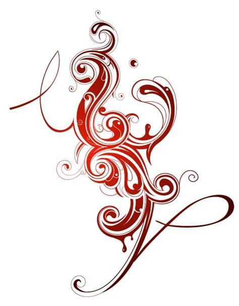imagenes de vectores rojos motivo decorativo en color rojo vector