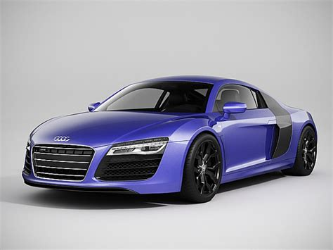 Audi R8 Modell by Audi R8 2014 3d Models Cgtrader