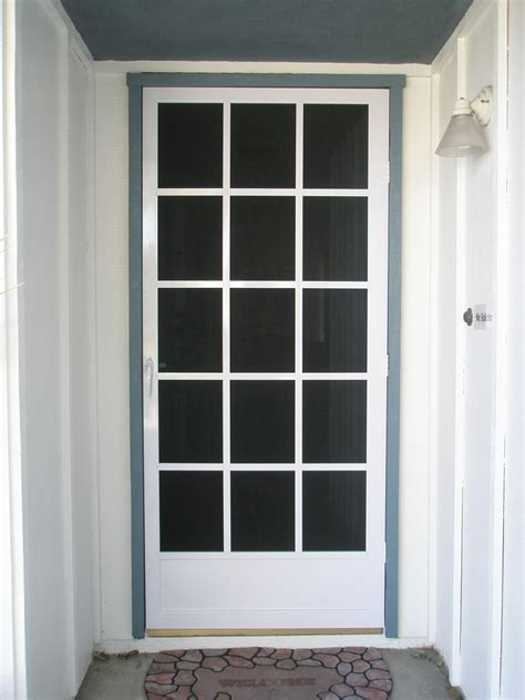 Screen Door Glass Unique Home Designs Screen Doors Buying Guide Homesfeed