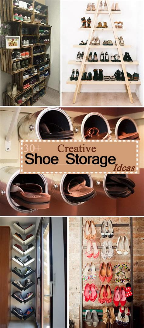creative shoe storage ideas 30 creative shoe storage ideas 2017