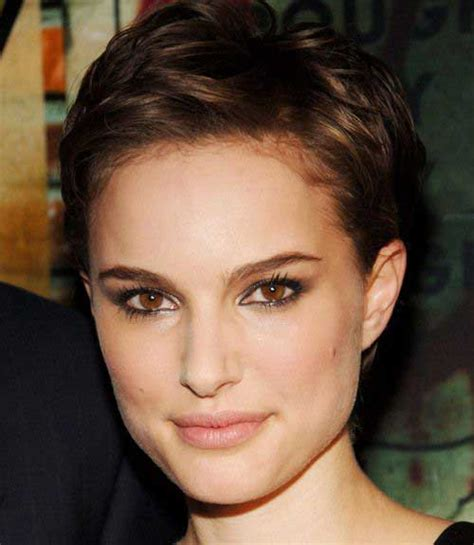 how to stye short off the face styles for haircuts 15 nice natalie portman pixie cut short hairstyles