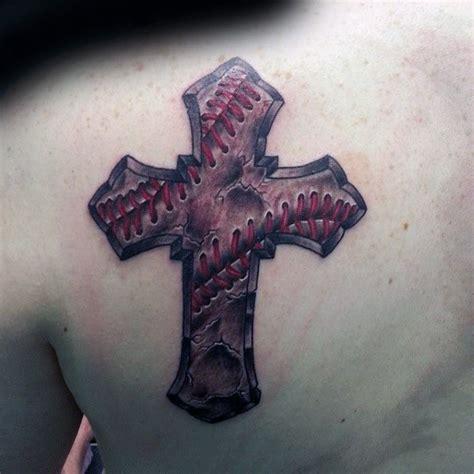 baseball cross tattoos 20 baseball cross designs for religious ink ideas