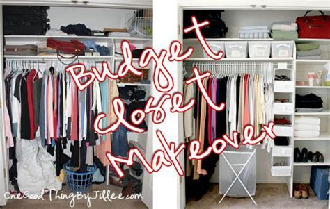 Closet Organizing Ideas On A Budget by Budget Closet Makeover Master Bedrooms The Closet
