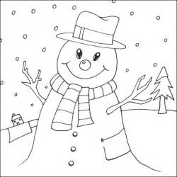 snowman coloring page snowman coloring pages coloring pages to print