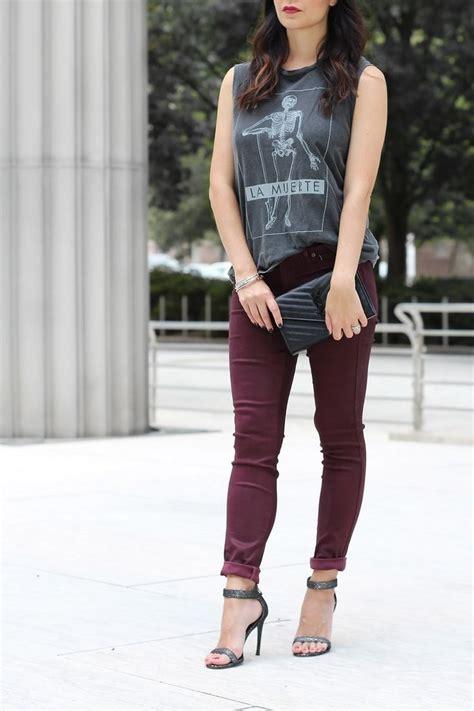 maroon gag best 25 oxblood jeans ideas on pinterest burgundy jeans