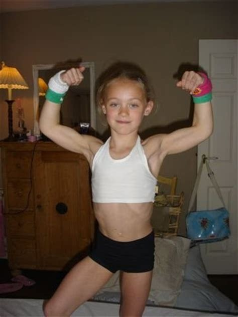 little pt models abs girl fitness cute strong dave black flickr