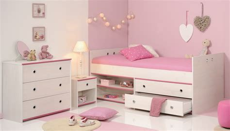 bett mit integriertem nachttisch bett mit nachttisch und kommode smoozy 23b wei 223 pink sb