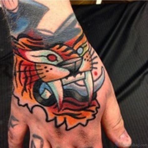 tattoo simple tiger 62 mind blowing tiger tattoo on hand