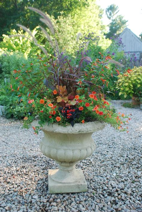 Summer Planters Ideas by Fall Containers Garden Foreplay