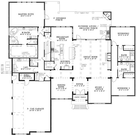waringford traditional home plan 055s 0127 house plans