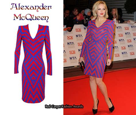 In Closet Mcqueen Carpet Fashion Awards by In Zoe Lister S Closet Mcqueen Two Tone Zig