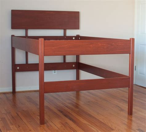 high queen bed frame brown wood high raised platform bed frame for queen size