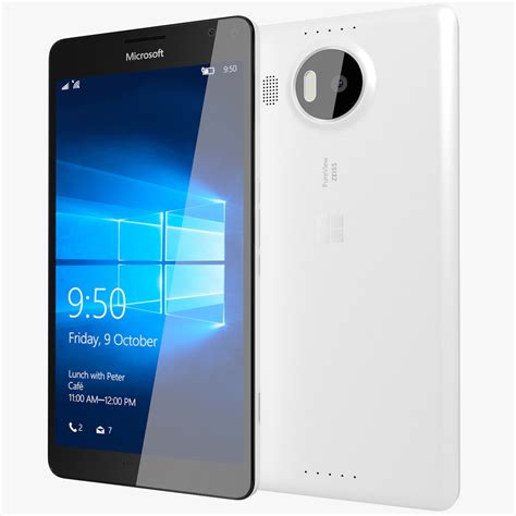 Nokia Lumia Octacore nokia microsoft lumia 950 xl black white 32gb 5 7 quot octa win 10 20mp 4g lte ebay