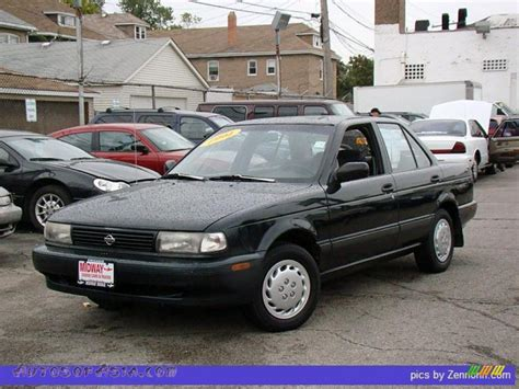 dark gray nissan 1994 nissan sentra e sedan in black photo 3 855324