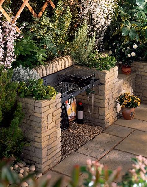 bbq patio designs best 25 outdoor barbeque area ideas on