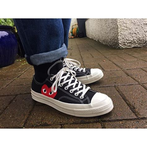 Converse Ct 70s High Cdg converse x comme cdg on instagram