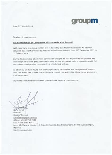 Reference Letter Or Testimonial 2 Testimonial Reference Letter From Employer Haidersportfolio