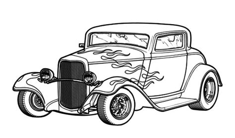 coloring pages hot rod cars old hot rod coloring pages cars picture kids play color