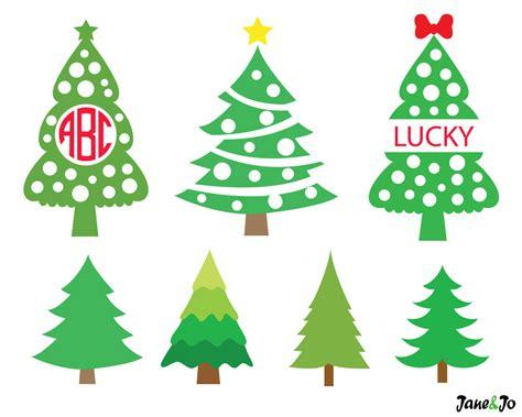 weihnachtsbaum svg weihnachtsbaum monogramm svg