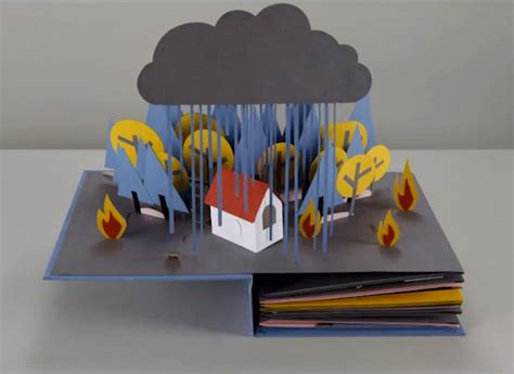 pictures of pop up books revolution the lifecycle of water told in a stop motion