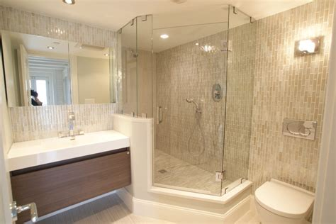 Modern Bathrooms Houzz Commercial Wharf Modern Bathroom Boston By Miranda Interior Design