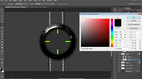 Photoshop Pattern Tutorial Youtube | how to do a wristwatch design photoshop tutorial 1