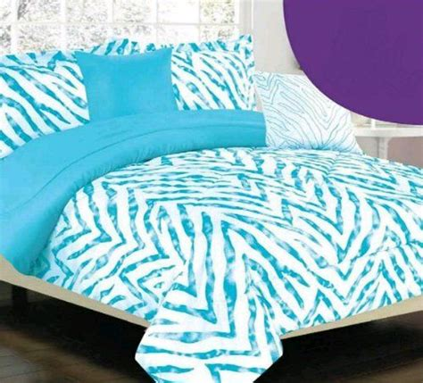blue zebra bedding pinterest