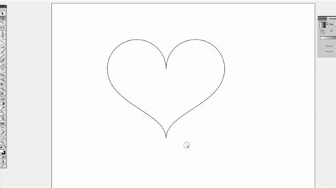 draw heart illustrator create a vector heart on adobe illustrator cs5 youtube