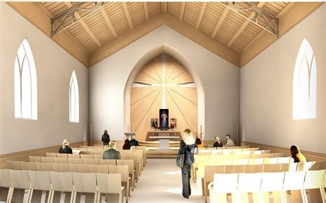 catholic church on behance