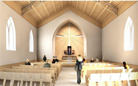 Catholic Church On Behance Catholic Church Interior Design
