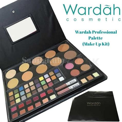 Makeup Kit Professional Wardah Kosmetik harga make up kit wardah kosmetik saubhaya makeup