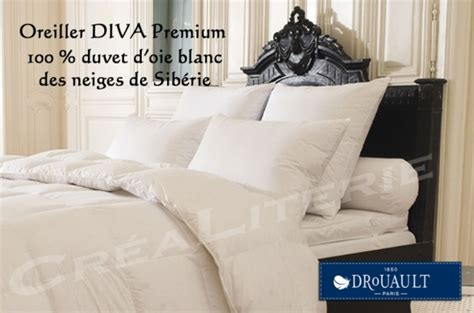 Oreillers Drouault by Oreiller Drouault Premium Naturel Duvet D Oie Blanc