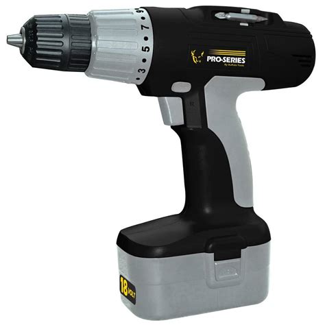pro series 18 volt cordless drill ps07215 the home depot