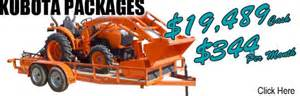 Kubota packages great plains kubota