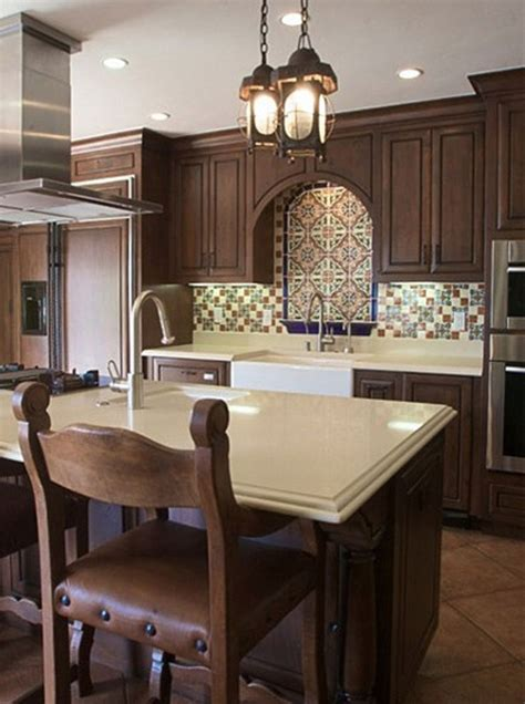 Spanish Style Kitchen Cabinets by Spanish Style Kitchen House Pinterest