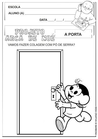 Atividade Projeto A Arca de Noé Vinicius de Moraes A Porta