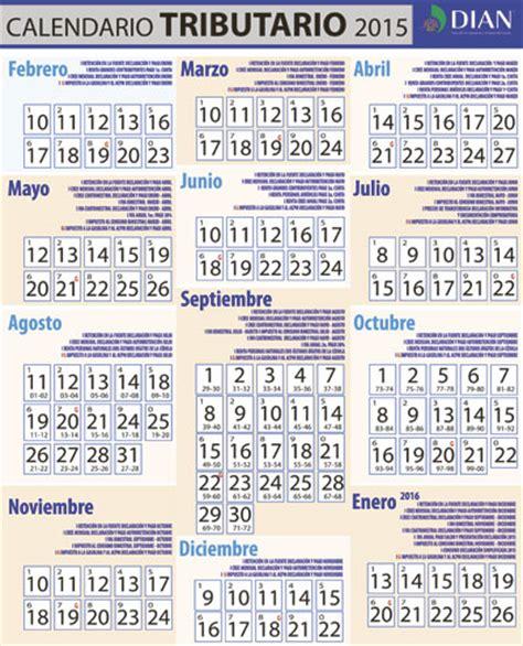 Calendario Tributario 2016 Dian Dian Calendario Tributario 2016 Newhairstylesformen2014