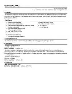 Fedex Resume by Fedex Delivery Driver Resume Exle Fedex Dillon South Carolina