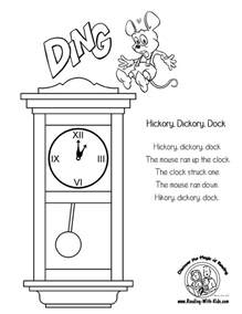 nursery rhyme coloring pages images amp pictures becuo