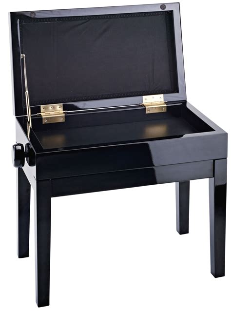 black piano bench konig meyer 13950 piano bench black velvet with storage