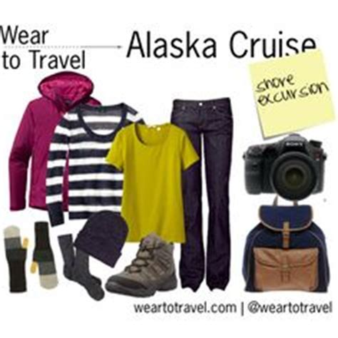 """wear to travel: alaska cruise shore excursion"" by"