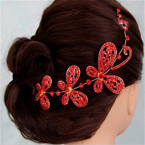 wedding hair accessories to buy high quality flower indian wedding bridal hair