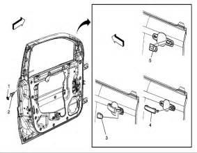 2007 Pontiac Torrent Parts 2007 Pontiac Torrent The Drivers Side Door Handle As It Came