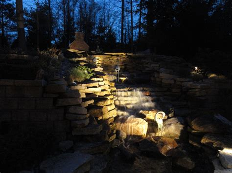 The Art And Magic Of Professional Waterfall And Water Waterfall Lights